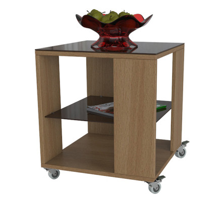 Столик BeautyStyle-6 (силиконовые колесики)
