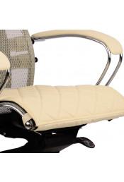 Накладка на сиденье для кресла Samurai, бежевая кожа