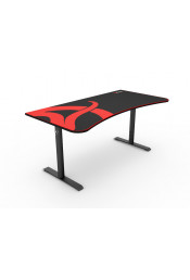 Arozzi Arena Gaming Desk — Black