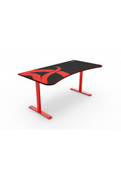 Arozzi Arena Gaming Desk — Red